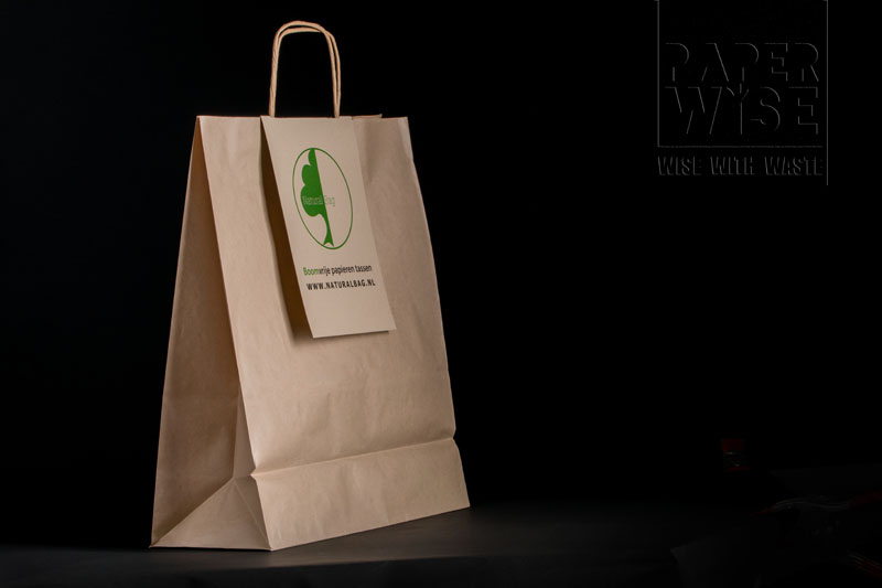 paperwise packaging bag natural