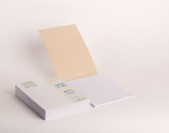 PaperWise note pad A5 white cover lined white paper 80 g/m² 50 sheets 5 notepads