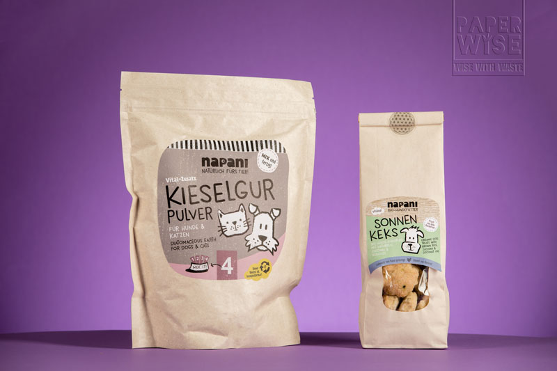 eco friendly pouch for dog snacks