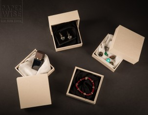 PaperWise eco friendly paper giftbox circulair board luxury jewelry box socially responsible sustainable packaging