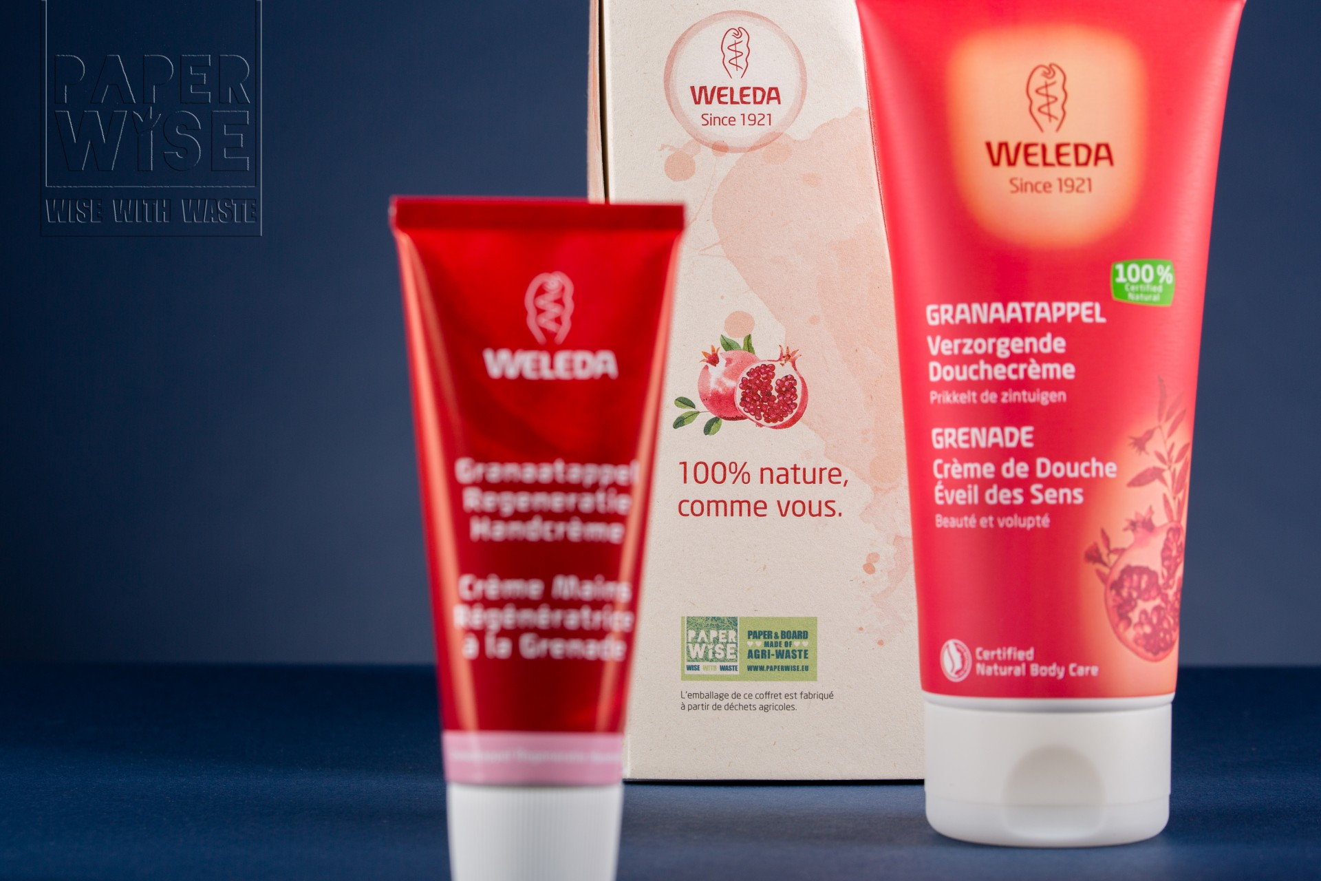 SUSTAINABLE GIFT PACKAGING WELEDA