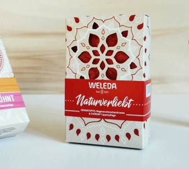 PaperWise eco paperboard gift packaging sustainable cosmetic beauty soap cream body care Weleda