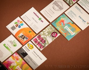 PaperWise environmentally friendly paper business cards office