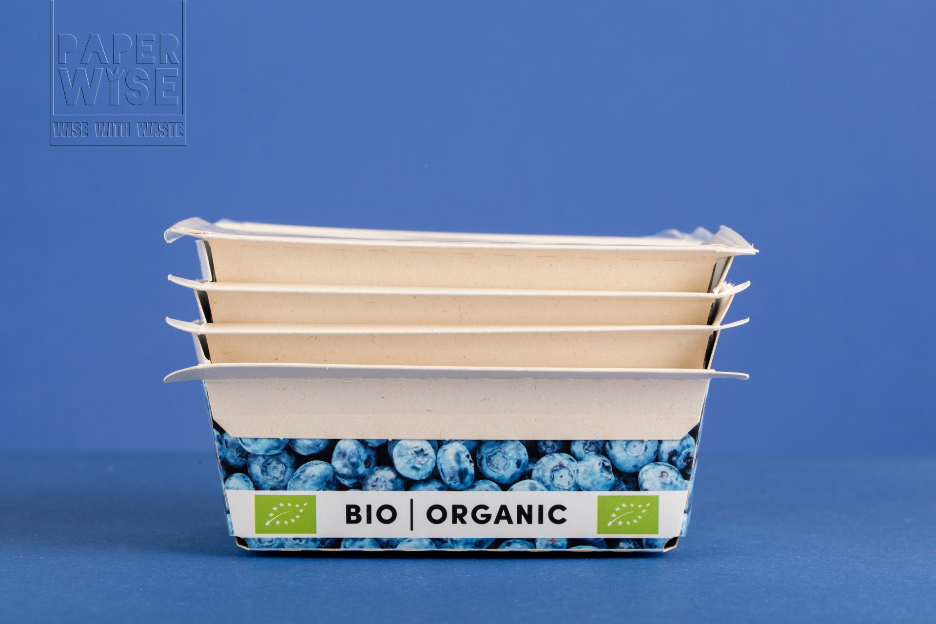 PLASTIC-FREE BIO PACKAGING FOR (SNACK) VEGETABLES AND SOFT FRUIT