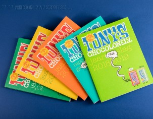 PaperWise sustainable paper annual report CSR eco friendy printing Tony's Chocolonely