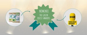 PaperWise  GENOMINEERD VOOR The Green Quest Awards van BRN nieuwsradio!