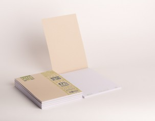 PaperWise sustainable paper notebooks A5 unbleached eco stationery organic writing pad office