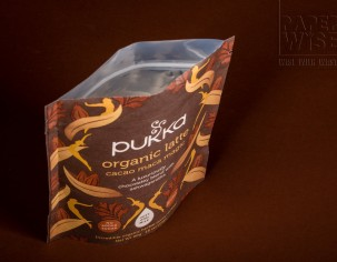 PaperWise sustainable paper organic board pouch tea coffee latte environmentally responsible packaging Pukka