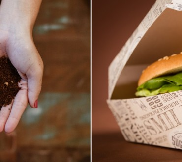 PaperWise eco compostable paper board snack togo disposables Landal GreenParks Tomorrowland Natureko