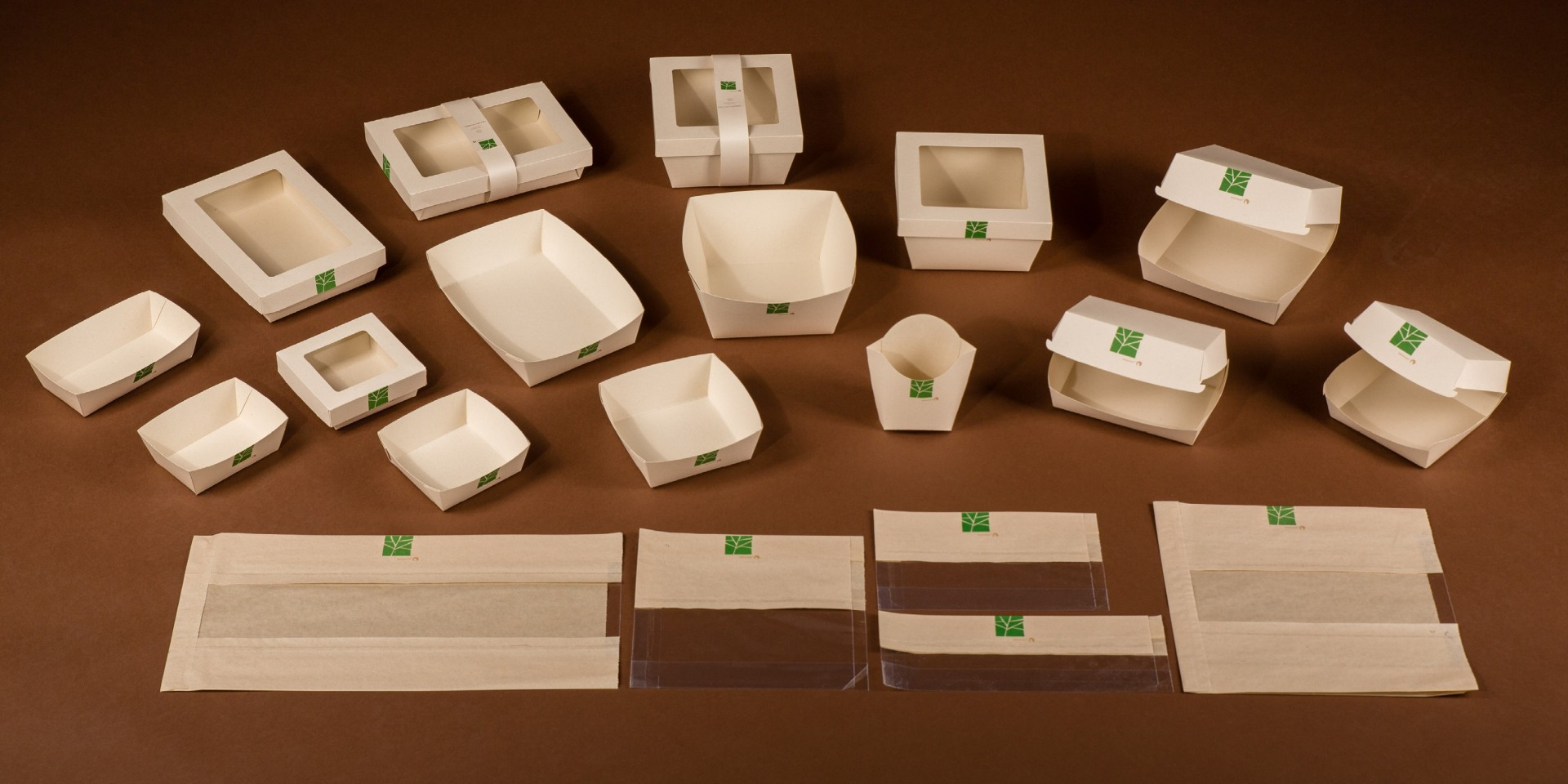 PaperWise eco friendly compostable paper board snack togo disposables Natureko