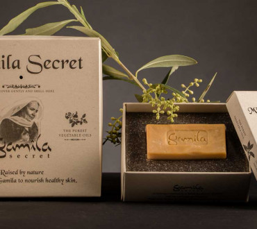 PaperWise papier durable e?co emballage cosme?tique beaute? savon cre?me soinsducorps Gamila Secret