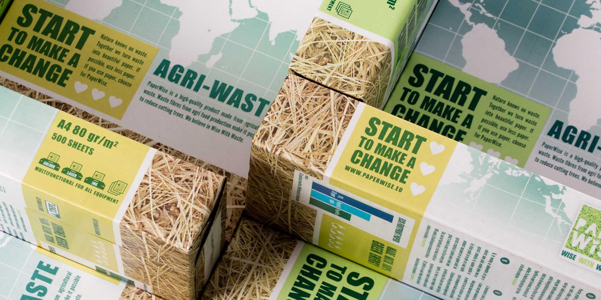 PaperWise umweltfreundlich sozial verantwortlich o?kologisch papier karton kopierpapier landwirtschaftlichen abfa?llen
