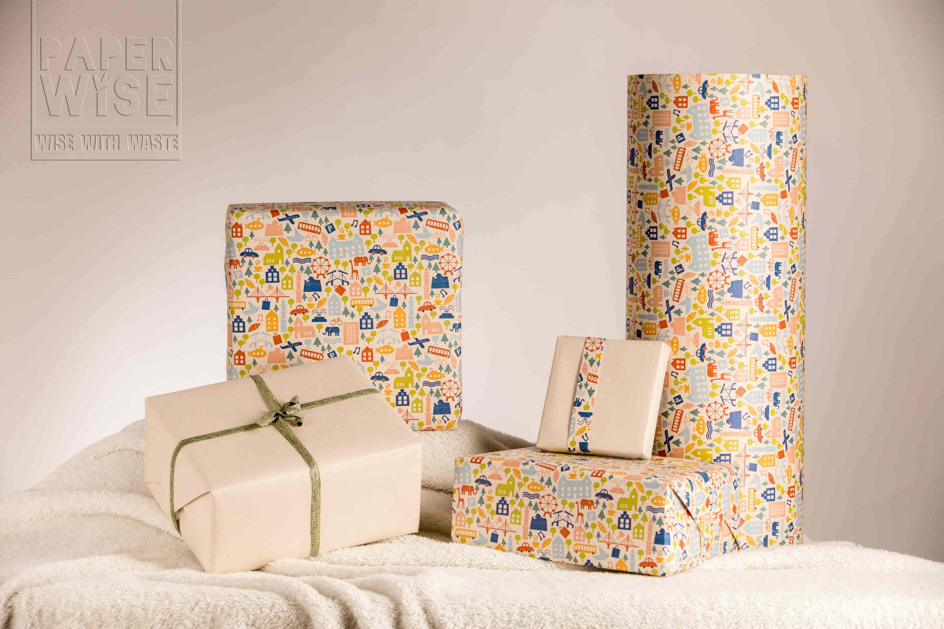 Paperwise eco friendly sustainable packaging gift wrapping