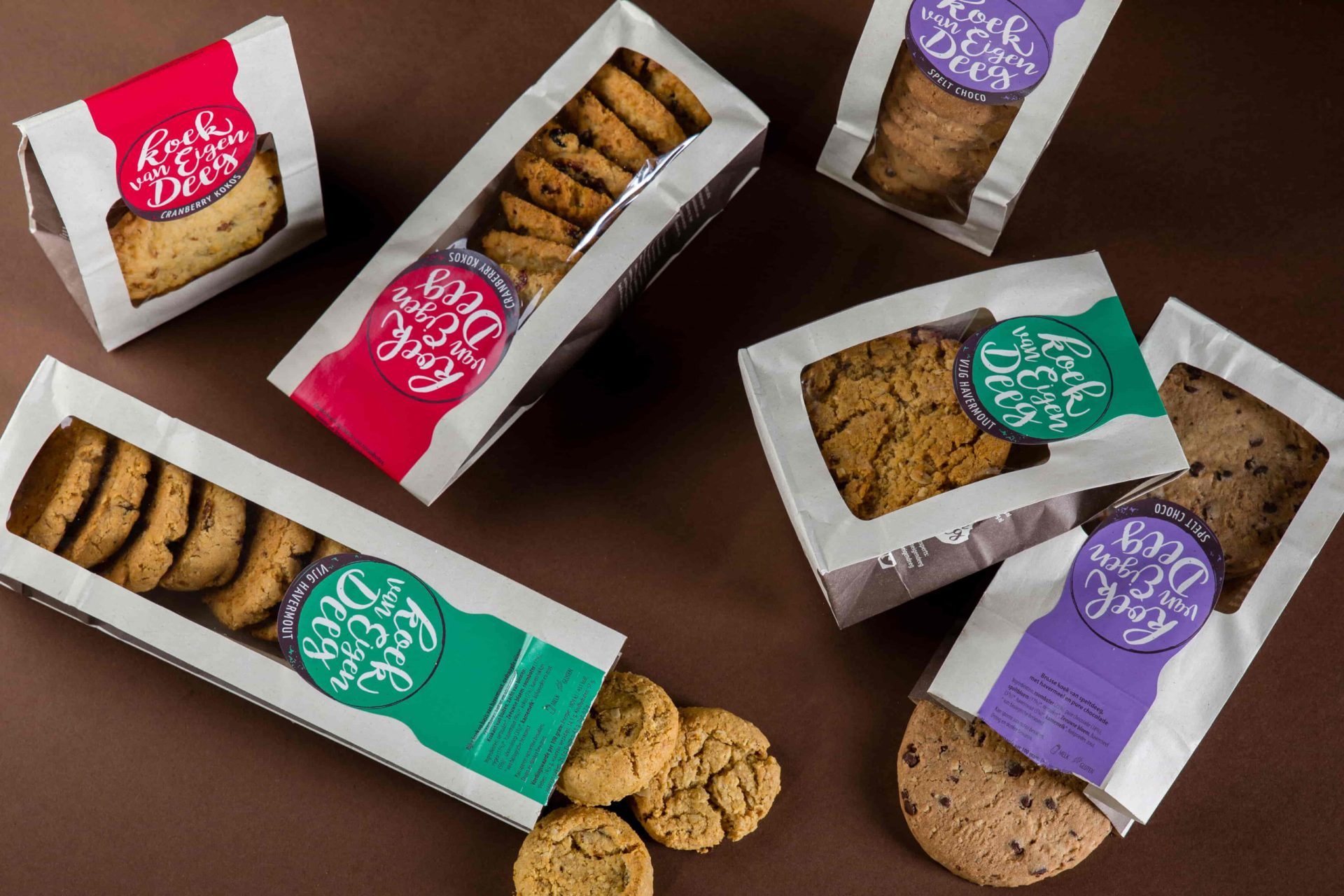 PaperWise packaging biscuits