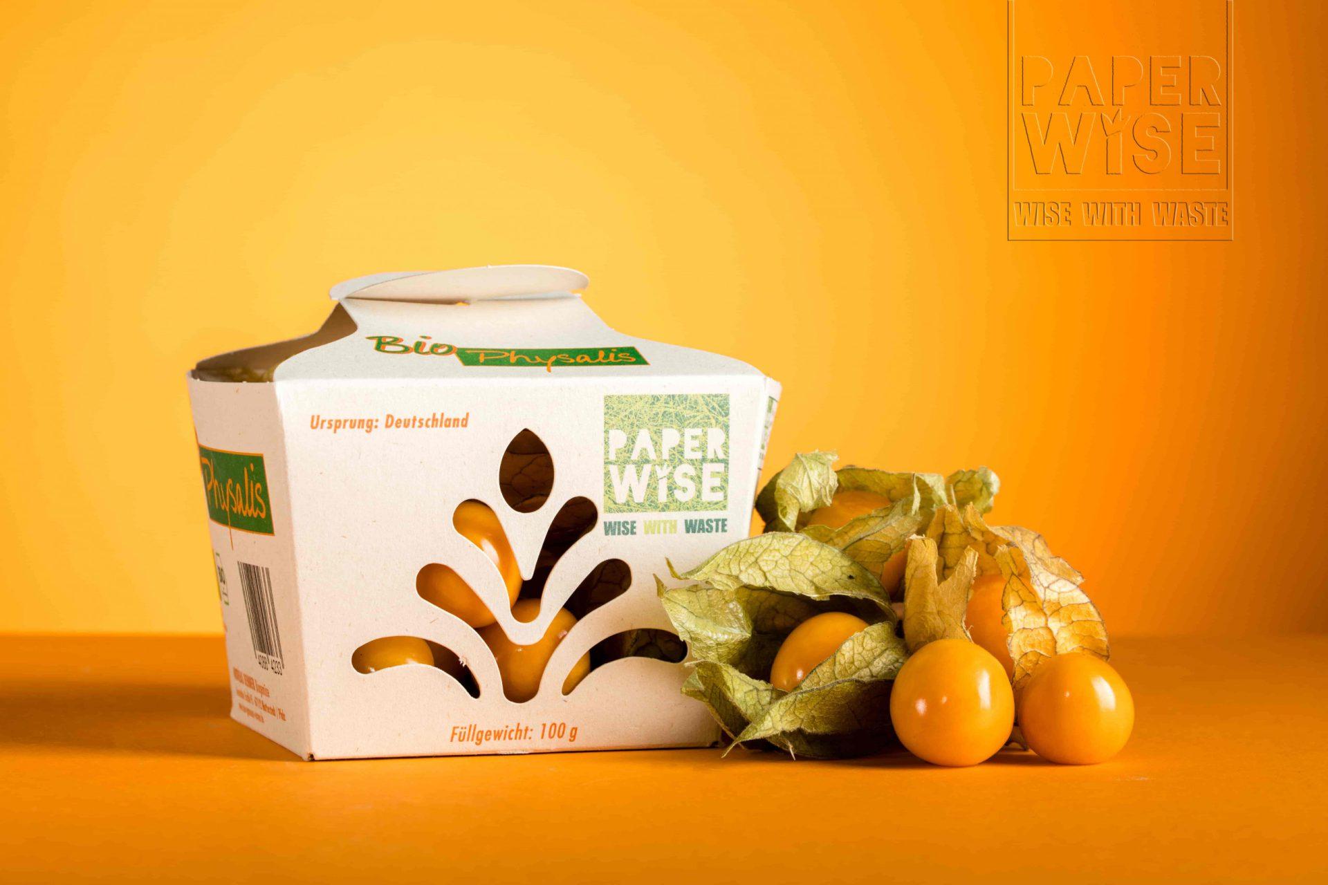 PaperWise packaging fruit & vegetable physalis 2