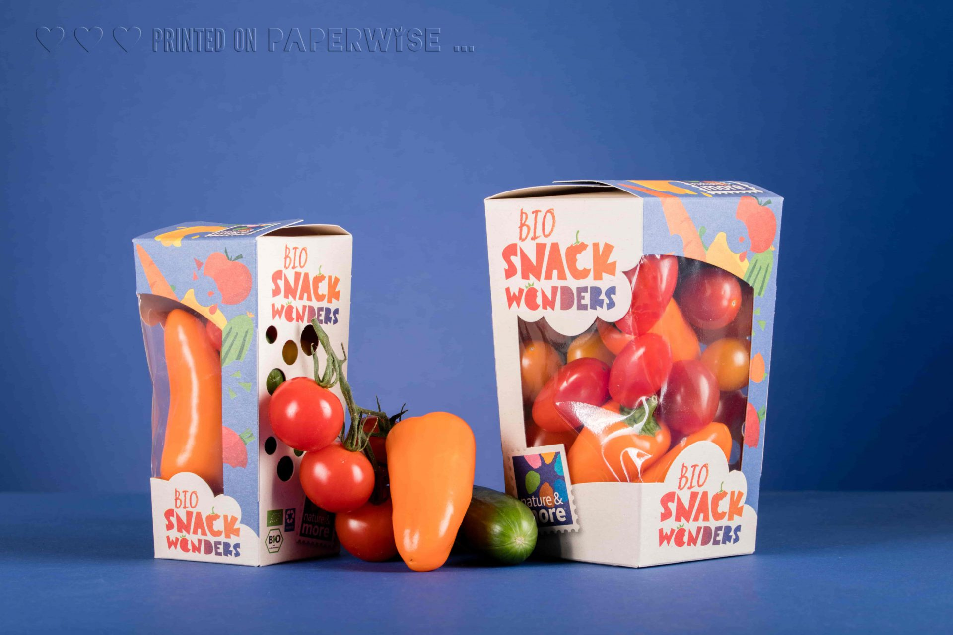 PaperWise packaging fruit & vegetable tomato little 15