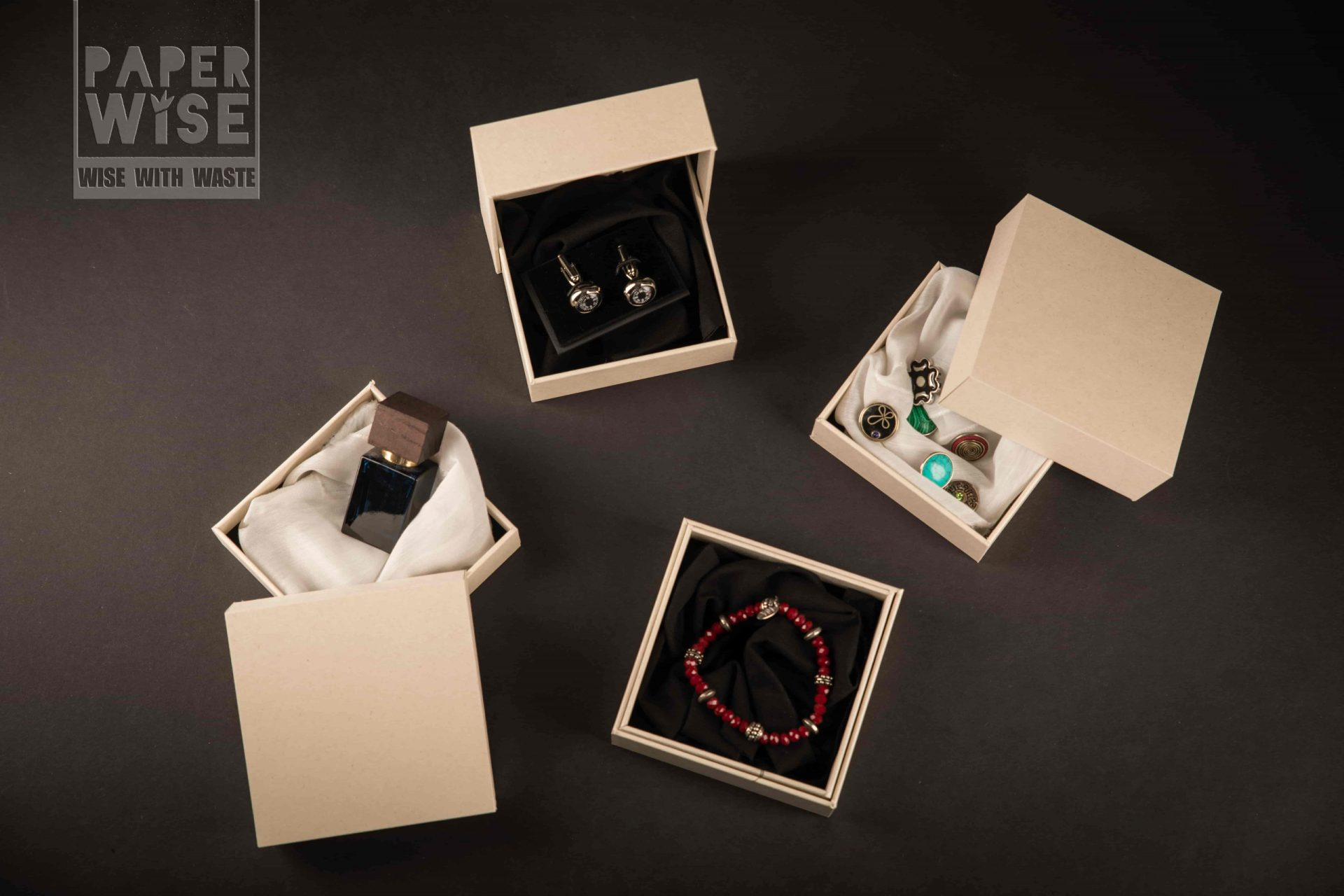 PaperWise packaging jewellery beauty box
