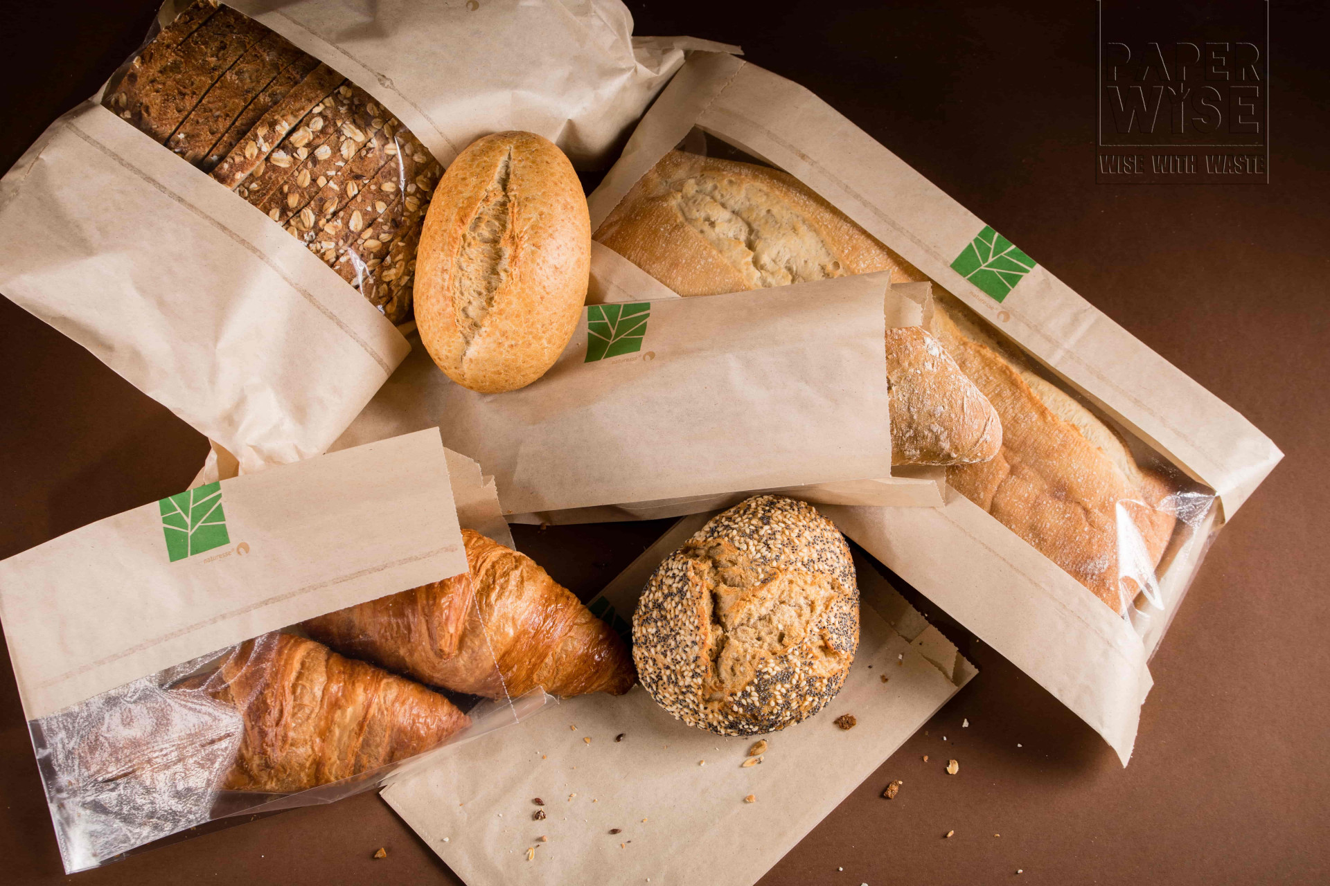environmentally-friendly packaging for bread